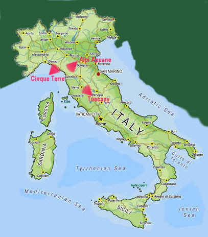 italy map cinque terre - get domain pictures - getdomainvids.com